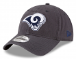 "Los Angeles Rams New Era NFL 9Twenty ""Steel Core Classic"" Adjustable Hat"