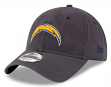 "Los Angeles Chargers New Era NFL 9Twenty ""Steel Core Classic"" Adjustable Hat"