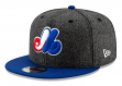 """Montreal Expos New Era 9FIFTY MLB Cooperstown """"Pattern Pop"""" Snapback Hat"""