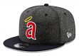 """California Angels New Era 9FIFTY MLB Cooperstown 1971 """"Pattern Pop"""" Snapback Hat"""