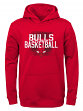 "Chicago Bulls Youth NBA ""Attitude"" Pullover Hooded Performance Sweatshirt"