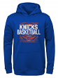 "New York Knicks Youth NBA ""Attitude"" Pullover Hooded Performance Sweatshirt"