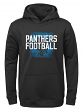 "Carolina Panthers Youth NFL ""Attitude"" Pullover Hooded Performance Sweatshirt"