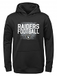 "Oakland Raiders Youth NFL ""Attitude"" Pullover Hooded Performance Sweatshirt"