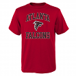 "Atlanta Falcons Youth NFL ""Ovation"" Short Sleeve T-Shirt"
