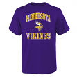 "Minnesota Vikings Youth NFL ""Ovation"" Short Sleeve T-Shirt"