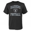 "Oakland Raiders Youth NFL ""Ovation"" Short Sleeve T-Shirt"