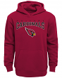 "Arizona Cardinals Youth NFL ""Fadeout"" Pullover Hooded Sweatshirt"