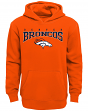 "Denver Broncos Youth NFL ""Fadeout"" Pullover Hooded Sweatshirt"