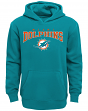 "Miami Dolphins Youth NFL ""Fadeout"" Pullover Hooded Sweatshirt"