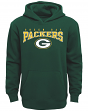 """Green Bay Packers Youth NFL """"Fadeout"""" Pullover Hooded Sweatshirt"""