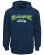 "Seattle Seahawks Youth NFL ""Fadeout"" Pullover Hooded Sweatshirt"