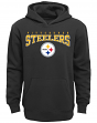 "Pittsburgh Steelers Youth NFL ""Fadeout"" Pullover Hooded Sweatshirt"