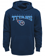 "Tennessee Titans Youth NFL ""Fadeout"" Pullover Hooded Sweatshirt"