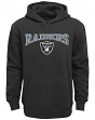"""Oakland Raiders Youth NFL """"Fadeout"""" Pullover Hooded Sweatshirt"""
