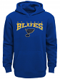 "St. Louis Blues Youth NHL ""Fadeout"" Pullover Hooded Sweatshirt"