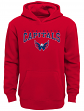 "Washington Capitals Youth NHL ""Fadeout"" Pullover Hooded Sweatshirt"