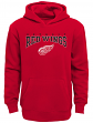 "Detroit Red Wings Youth NHL ""Fadeout"" Pullover Hooded Sweatshirt"