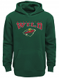 "Minnesota Wild Youth NHL ""Fadeout"" Pullover Hooded Sweatshirt"