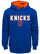"New York Knicks Youth NBA ""Bounce Pass"" Pullover Hooded Sweatshirt"