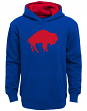 "Buffalo Bills Youth NFL ""Vintage Logo"" Pullover Hooded Sweatshirt"