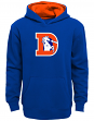 "Denver Broncos Youth NFL ""Vintage Logo"" Pullover Hooded Sweatshirt"