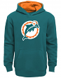 "Miami Dolphins Youth NFL ""Vintage Logo"" Pullover Hooded Sweatshirt"