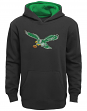 "Philadelphia Eagles Youth NFL ""Vintage Logo"" Pullover Hooded Sweatshirt"