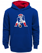 "New England Patriots Youth NFL ""Vintage Logo"" Pullover Hooded Sweatshirt"