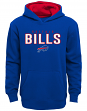 "Buffalo Bills Youth NFL ""Extra Point"" Pullover Hooded Sweatshirt"