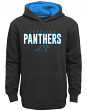 "Carolina Panthers Youth NFL ""Extra Point"" Pullover Hooded Sweatshirt"