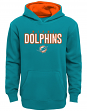 "Miami Dolphins Youth NFL ""Extra Point"" Pullover Hooded Sweatshirt"