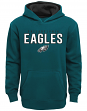 "Philadelphia Eagles Youth NFL ""Extra Point"" Pullover Hooded Sweatshirt"