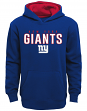 "New York Giants Youth NFL ""Extra Point"" Pullover Hooded Sweatshirt"