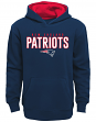 """New England Patriots Youth NFL """"Extra Point"""" Pullover Hooded Sweatshirt"""
