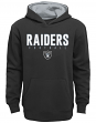 "Oakland Raiders Youth NFL ""Extra Point"" Pullover Hooded Sweatshirt"