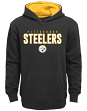 "Pittsburgh Steelers Youth NFL ""Extra Point"" Pullover Hooded Sweatshirt"