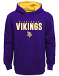 "Minnesota Vikings Youth NFL ""Extra Point"" Pullover Hooded Sweatshirt"