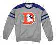 "Denver Broncos Mitchell & Ness NFL ""Post Season Run"" Men's Crew Sweatshirt"
