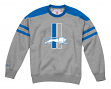 "Detroit Lions Mitchell & Ness NFL ""Post Season Run"" Men's Crew Sweatshirt"