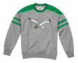 "Philadelphia Eagles Mitchell & Ness NFL ""Post Season Run"" Men's Crew Sweatshirt"