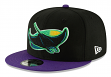 "Tampa Bay Rays New Era 9FIFTY MLB Cooperstown ""Logo Pack"" Snapback Hat"