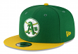 "Oakland Athletics New Era 9FIFTY MLB Cooperstown ""Logo Pack"" Snapback Hat"