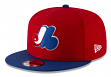 """Montreal Expos New Era 9FIFTY MLB Cooperstown """"Logo Pack"""" Snapback Hat"""
