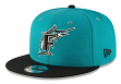 """Florida Marlins New Era 9FIFTY MLB Cooperstown """"Logo Pack"""" Snapback Hat"""