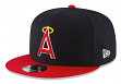 """California Angels New Era 9FIFTY MLB Cooperstown """"Logo Pack"""" Snapback Hat"""