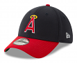 """California Angels New Era 39THIRTY MLB Cooperstown """"Logo Pack"""" Flex Fit Hat"""
