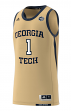 Georgia Tech Yellowjackets Adidas NCAA Men's Swingman Basketball Jersey