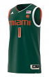Miami Hurricanes Adidas NCAA Men's Swingman Basketball Jersey