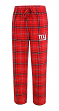 "New York Giants NFL ""Ultimate Goal"" Men's Flannel Pajama Pants"